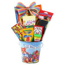 get well soon package alder creek gifts kid s get well soon gift pail target