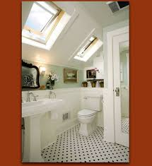 Small Attic Bathroom Sloped Ceiling by 54 Best Attic Bathrooms Images On Pinterest Room Home And Dream