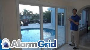 replacing sliding glass door lock patio doors 33 impressive how to install a sliding patio door