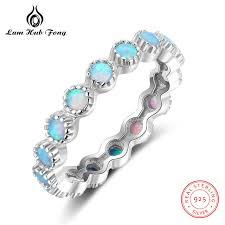 sterling rings wholesale images Buy blue fire opal rings for women 925 sterling jpg