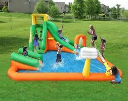 bouncy backyard waterparks inflatable water slide