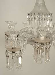 Bacarat Chandelier 19th C Baccarat 10 Arm Crystal Drop Chandelier For Sale At 1stdibs