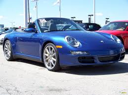 blue porsche 911 2006 cobalt blue metallic porsche 911 carrera 4s cabriolet 224298