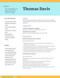 Resume Format Resume Templates For by Free Teacher Resume Templates Salary Template