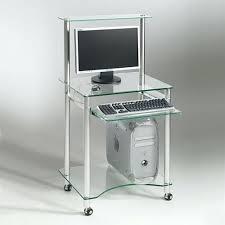 Bureau Verre Design Contemporain - bureau verre design contemporain bureau verre blanc cube glass