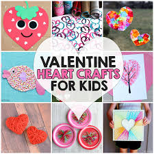 14 valentine u0027s day heart crafts for kids i heart arts n crafts