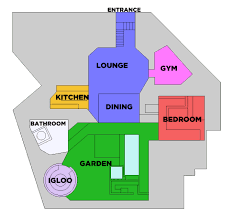 celebrity floor plans cbb11 floorplan see were everything is celebrity big brother