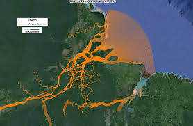 Amazon Basin Map Amazon River South America U2013 Ee Modeling System