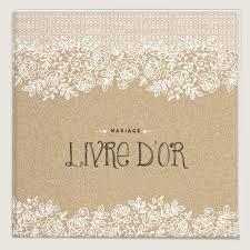 livre sur le mariage beau livre d or de mariage vintage et nature dentelle