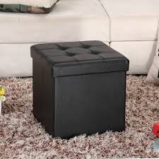 black leather storage ottoman with tray ottoman black leather storage ottoman small square ottomans with