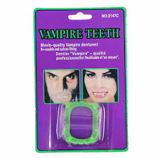 vampire halloween teeth