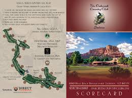 Sedona Map Course Details