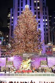 74th annual rockefeller center christmas tree lighting ceremony