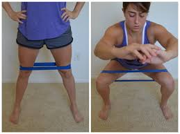 Chair Resistance Band Exercises Great Glute Mini Band Moves Redefining Strength