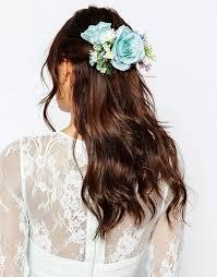 asos asos wedding mid flower hair corsage
