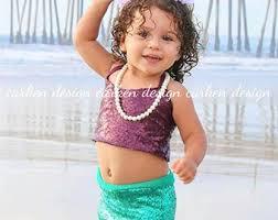 Baby Mermaid Halloween Costume Toddler Mermaid Costume Etsy