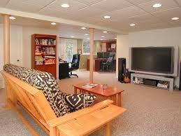 Finished Basement Carpet Basement Cozy Ideas For Basement Design Using Green Basement Wall