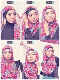 tutorial hijab pashmina untuk anak sekolah tutorial hijab praktis pashmina siffon femalezone info tutorial