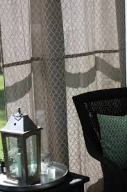 Outdoor Sheer Curtains For Patio Diy Outdoor Curtains Using A Shower Curtain Love Of Home