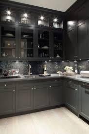 Best  Black Kitchen Cabinets Ideas On Pinterest Gold Kitchen - Gray kitchen cabinet