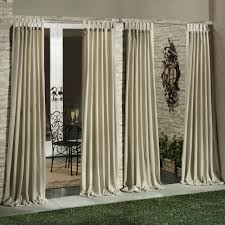 Sunbrella Outdoor Curtain Panels by Classic Outdoor Curtain Panels U2013 Outdoor Decorations