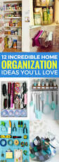 12 home organization hacks that will get your home in order