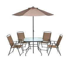 Patio Table Grommet Ideas Patio Set With Umbrella Or Wooden Patio Table With Umbrella