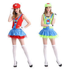 Mario Luigi Halloween Costumes Cheap Super Mario Luigi Halloween Costumes Aliexpress