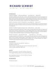 Best Resume Margins by Dds Resume Resume For Your Job Application
