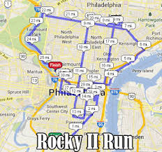 Map Run Route by Rocky 50k Fat Run World U0027s Marathons