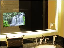 bathroom mirror cost sumptuous design ideas tv in bathroom mirror cost hotel embedded
