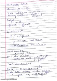 Sample Recruiting Resume Solutions Of Heat Equation And Problems