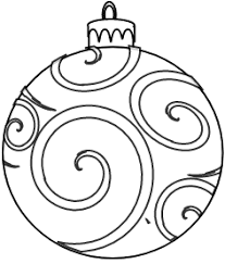 swirl ornament outline clip at clker vector clip