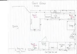 Draw Kitchen Cabinets by Build A Diy Kitchen Island Basic Drawing Step Bakery Design Layout