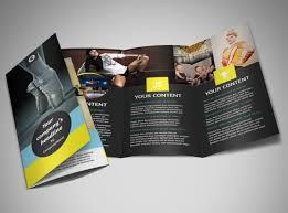 tri fold school brochure template school brochure template mycreativeshop