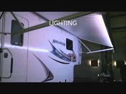 travel trailer led lights vellner led awning light youtube