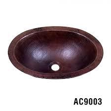 bathroom copper sinks oval copper bathroom sinks ariellina