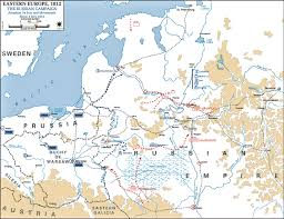 Map Of Eastern Europe And Russia by Of The Russian Campaign 1812 July 24