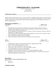 resume templates for administrative assistant sidemcicek com
