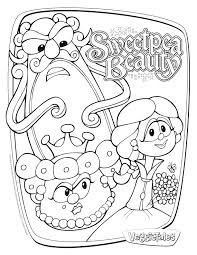 best vegetable cartoon veggie tales coloring pages womanmate com