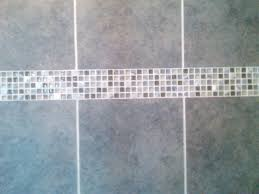 grey bathroom tile imagine blue accent tile master bath remodel