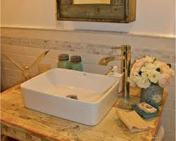 bathroom sink with side faucet faucet install for vessel sink