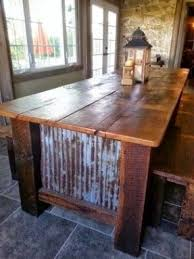 Kitchen Island Farm Table Best 25 Farm Table With Bench Ideas On Pinterest Kitchen Table