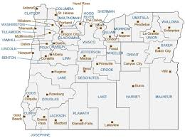 map of oregon state oregon of state oregon maps