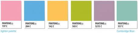 palette pantone colour palette university of cambridge