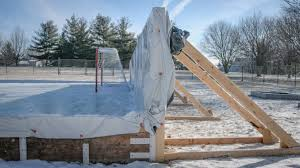 Backyard Hockey Rink Kit by Collection In Backyard Rink Ideas Search Ice Rink Kits 42quot