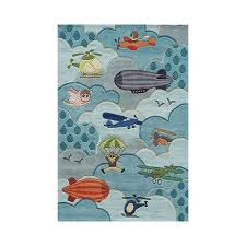 Airplane Rug Momeni Lil U0027 Mo Whimsy Sky Kids Rug Baby Boy Rivera Pinterest