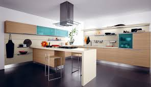 kitchen room design modern vent hood with grey stainless on the