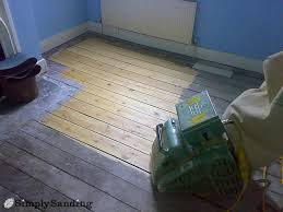how to sand a wooden floor simply sanding
