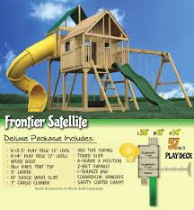 ultrabuilt outdoor wooden swing sets kids backyard play sets